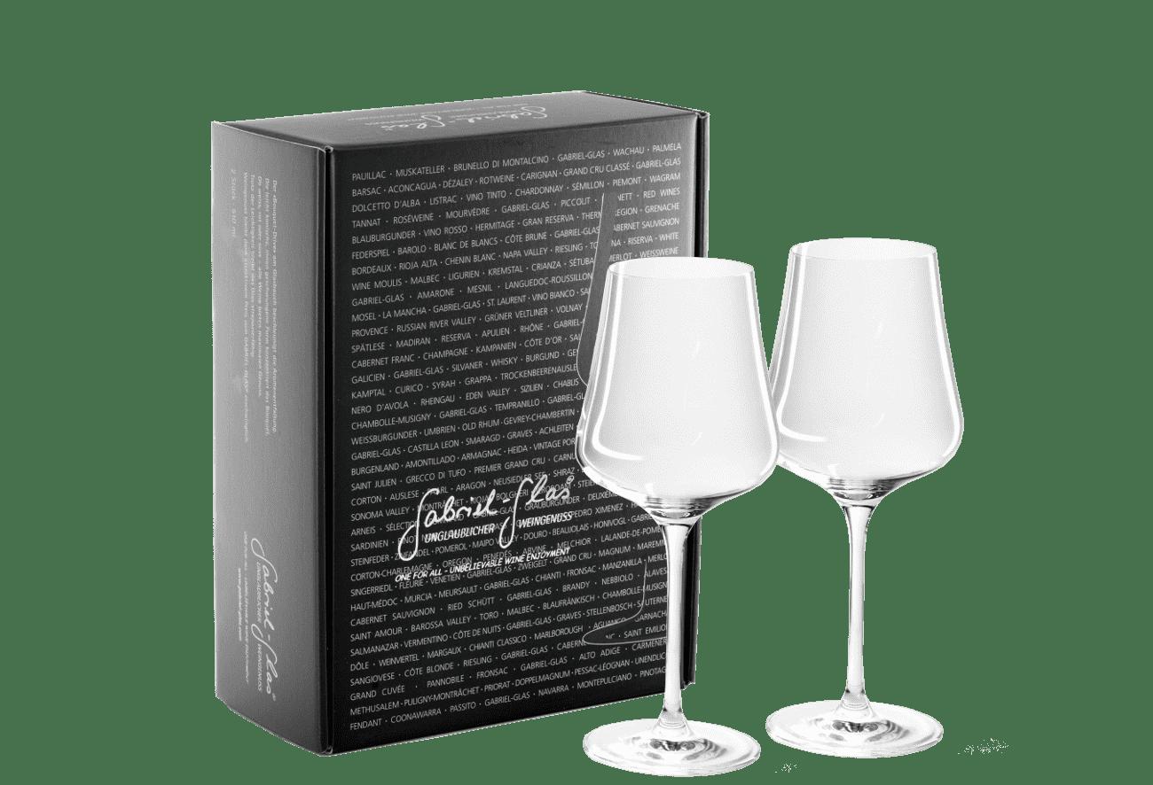 "Gabriel-Glas ""StandArt"" Designkarton 2er D"