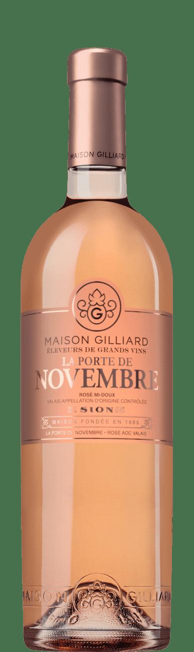 Gilliard Rosé de Novembre 2019