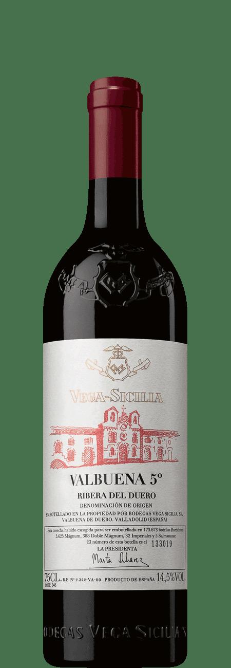 Vega Sicilia Valbuena 5° 2015